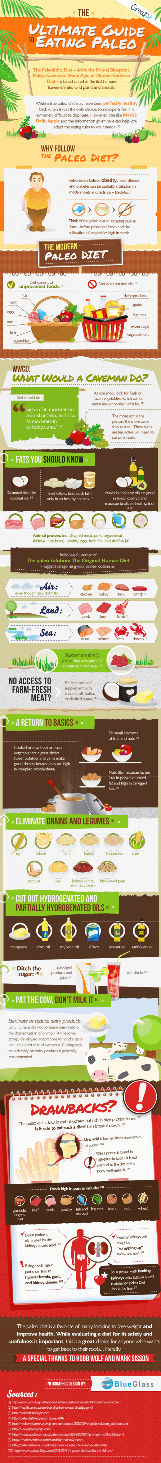 The Ultimate Guide to Eating Paleo [Infographic]