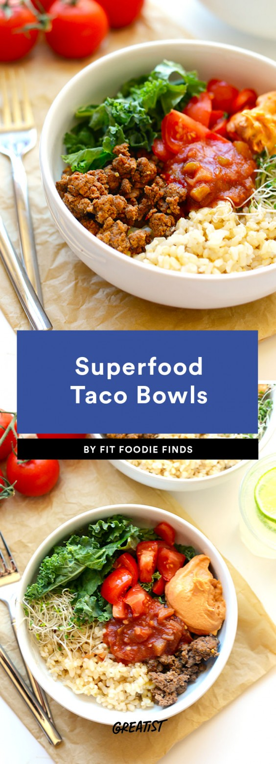 Taco Bowl Recipes Made Better Without the Shell