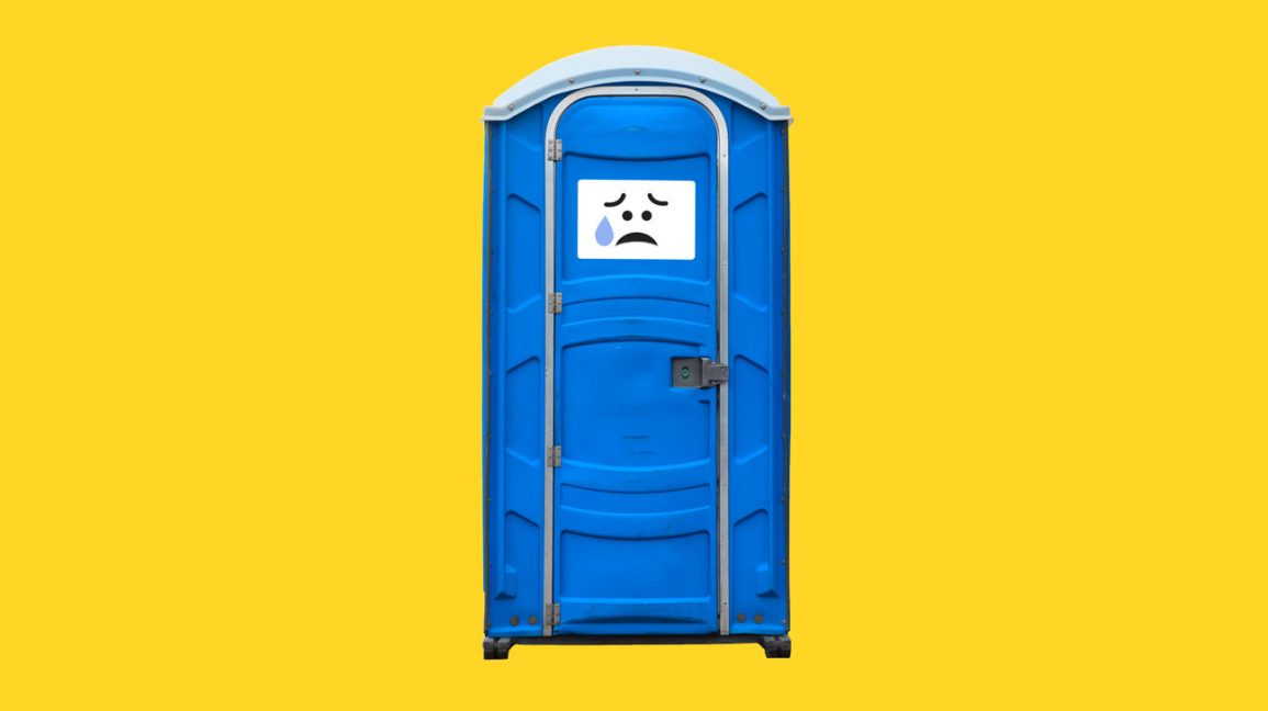 picture of a porta-potty