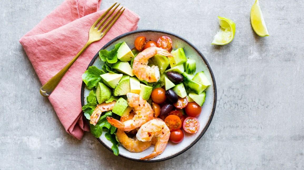 Keto low-carb salad