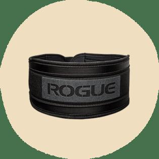 Ceinture d'haltérophilie en nylon Rogue USA
