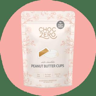 ChocZero White Chocolate Peanut Butter Cups