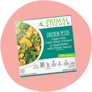 Primal Kitchen Chicken Pesto Bowl