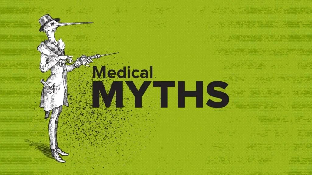 Medical myths logo