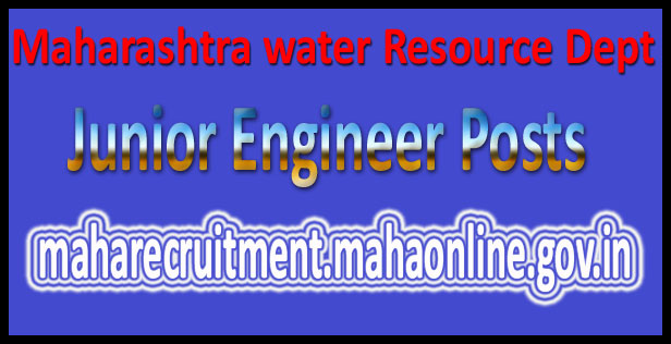 Maharashtra WRD recruitment 2016
