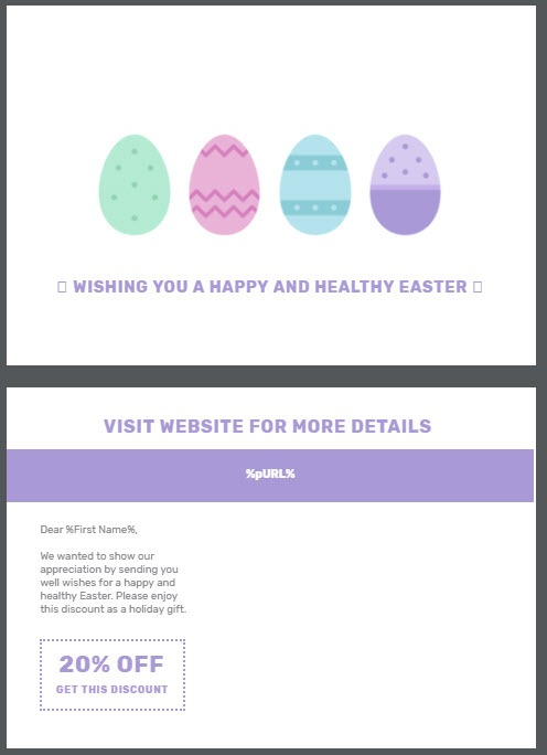 2018 Easter Direct Mail Marketing Tips And Free Postcard Template