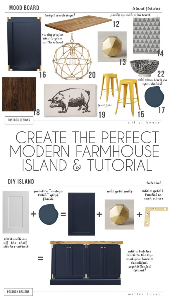 20 20 kitchen design tutorial. Farmhouse Kitchen Island Tutorial High Low  A Budget Friendly looks like THIS