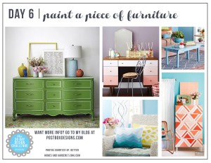30 Day Design Challenge: Day 6 Paint a Piece of Furniture