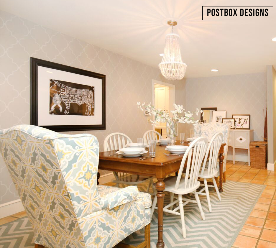 farmhouse dining room makeover created with almost all used farmhouse style dining room makeover by postbox designs