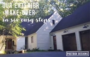 My Exterior Makeover Reveal: The Magic Wonders of Paint!
