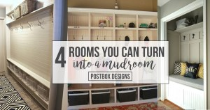 4 Rooms You Can Turn Into A Mudroom (Part II of How to Create the Perfect Lockers)