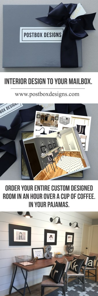 Postbox Designs E-Design: Interior Design Straight to Your Mailbox! Find out how it works: postboxdesigns.com