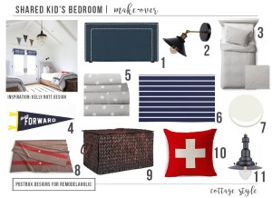 Create the Perfect Kid's Bedroom + FREE Gender Neutral Bedroom Mood Board