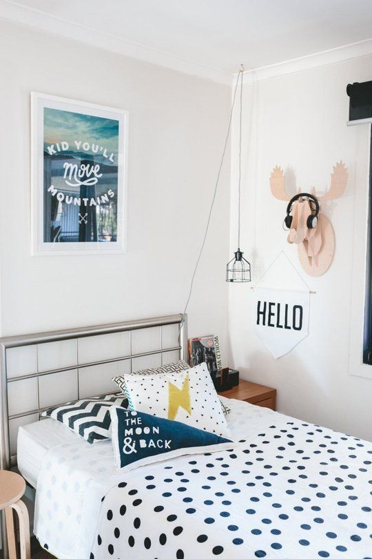 Postbox Designs E-Design: One Room Challenge Boy's Adventure Themed Room Makeover + Choose the Perfect Bedding Combo, bedroom makeover ideas, kids bedroom decor ideas. Photo Credit: Apartment Therapy