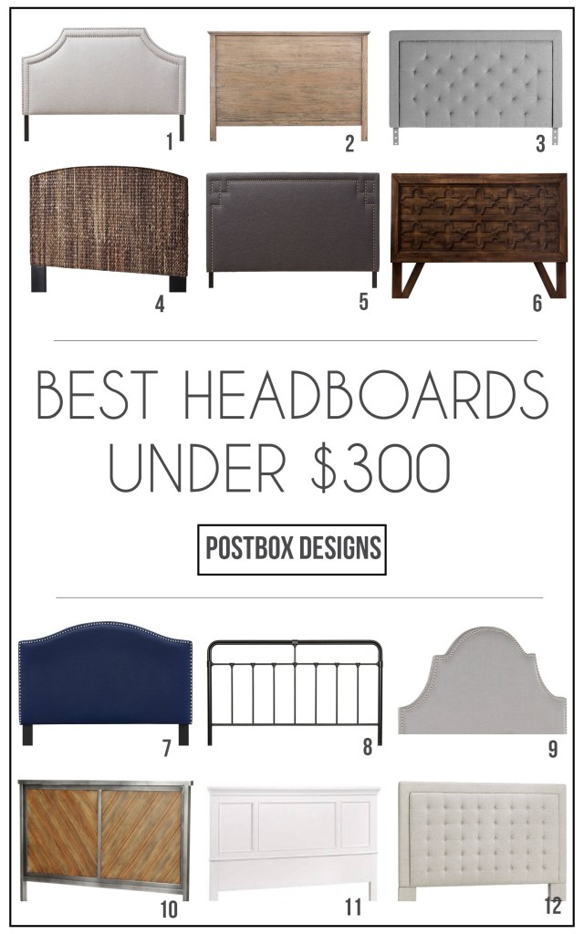 Best Headboards Under $300 Round Up: How To Choose Kid's Bedroom Furniture Your Children Won't Destroy! By Postbox Designs, Boy's Adventure Bedroom Makeover for One Room Challenge