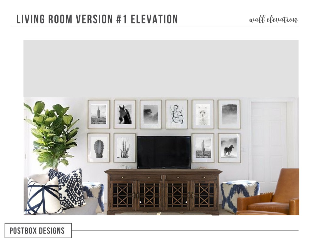 Traditional Living Room Makeover Reveal: Part I - Postbox Designs