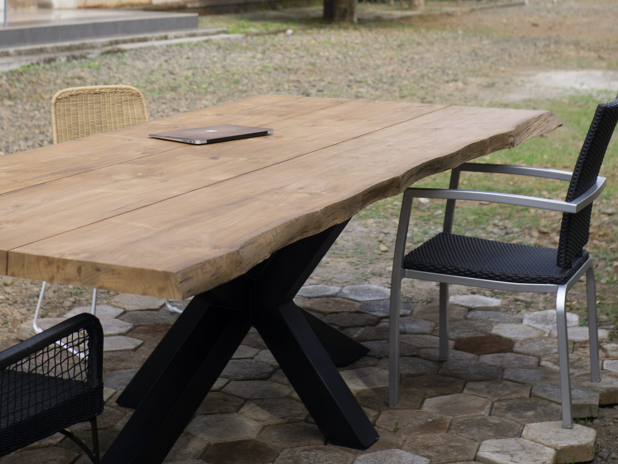 Live Edge Teak Table Indonesia Posteak Furniture