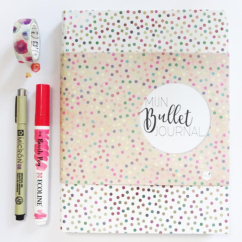 Brievenbuspakje Postnl Bullet Journal Stip • Post & Papier