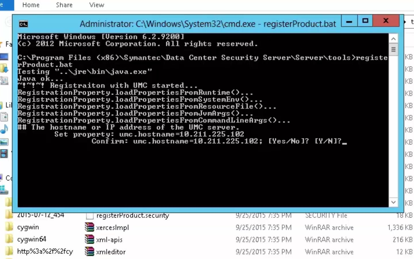 Video Registering The Management Server With Unified Management Console - File Server Java Program