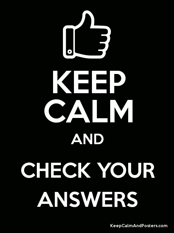 Never Trust On Girl Wallpaper Keep Calm And Check Your Answers Keep Calm And Posters