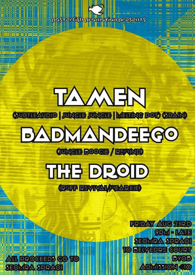 Tamen BadManDeego Droid 23 Aug 2013