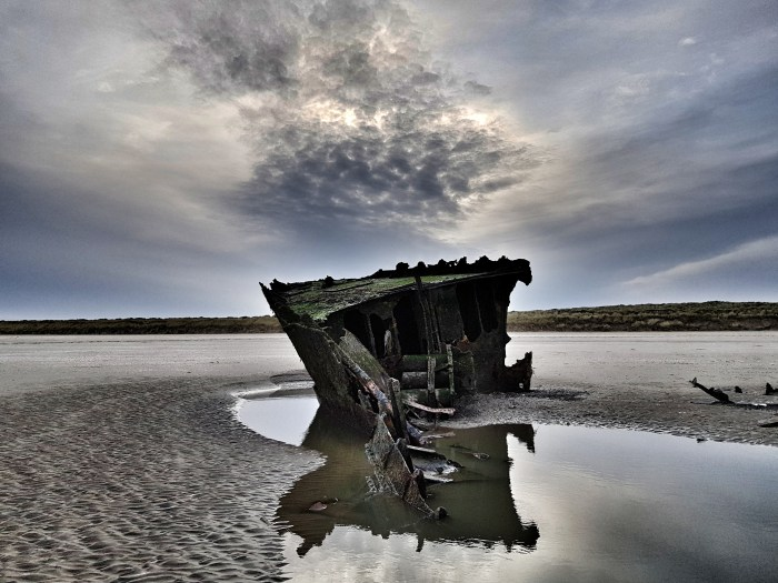 Wreck of the MV Irish Trader Photo by Freda Hughes