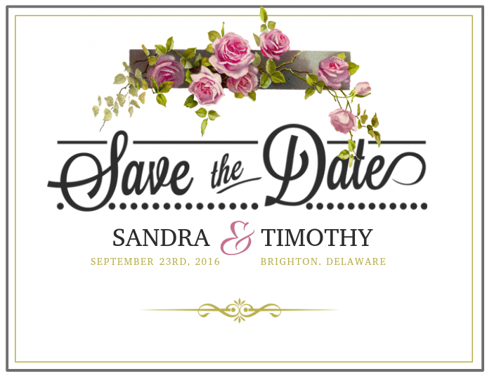 save the date birthday cards - Minimfagency - save the date birthday template