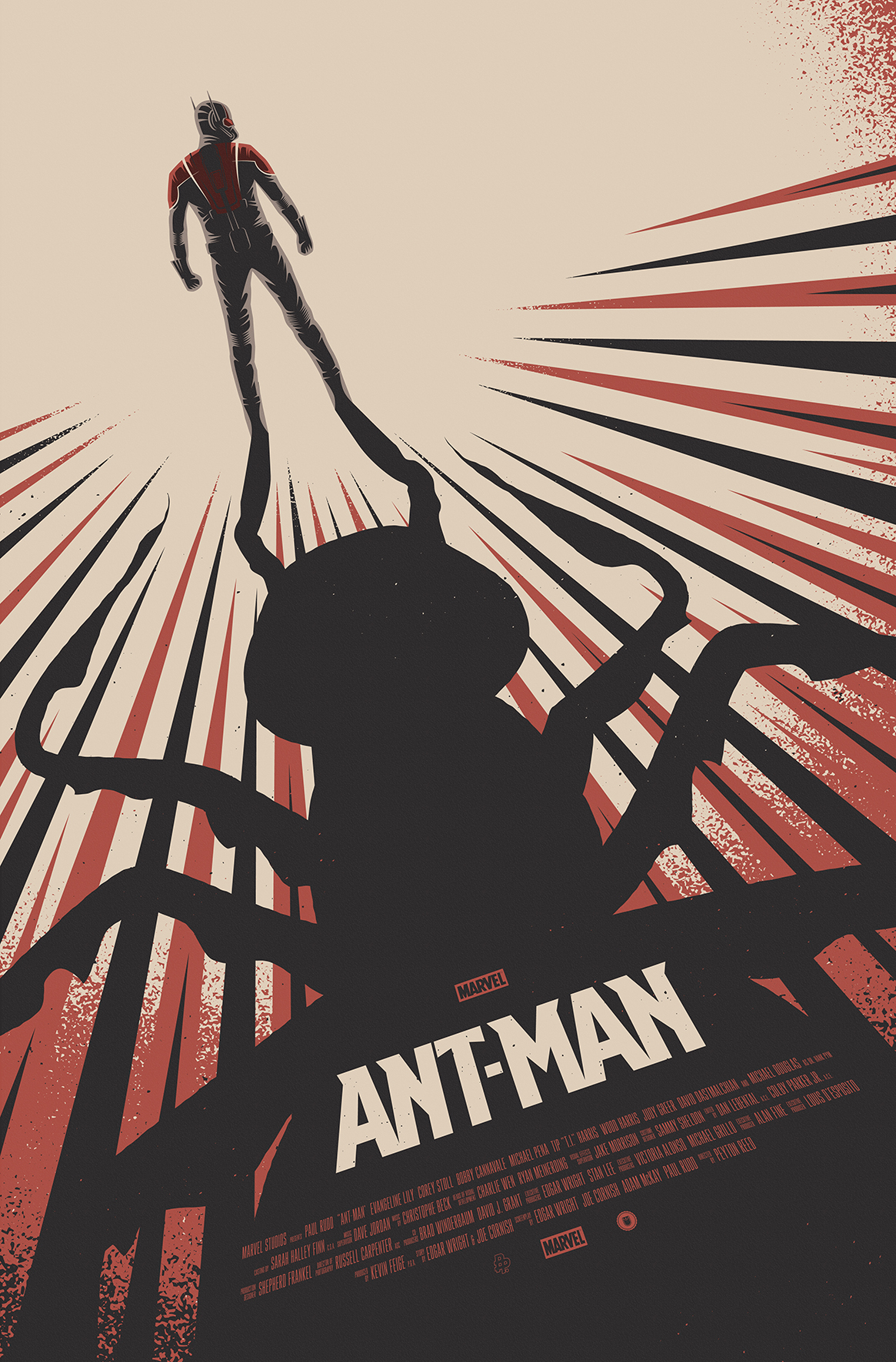 Photo Poster Poster Posse Ant Man Collection Revealed Mcuexchange