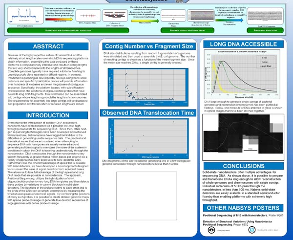 Research Posters with an iPad Spot postersession