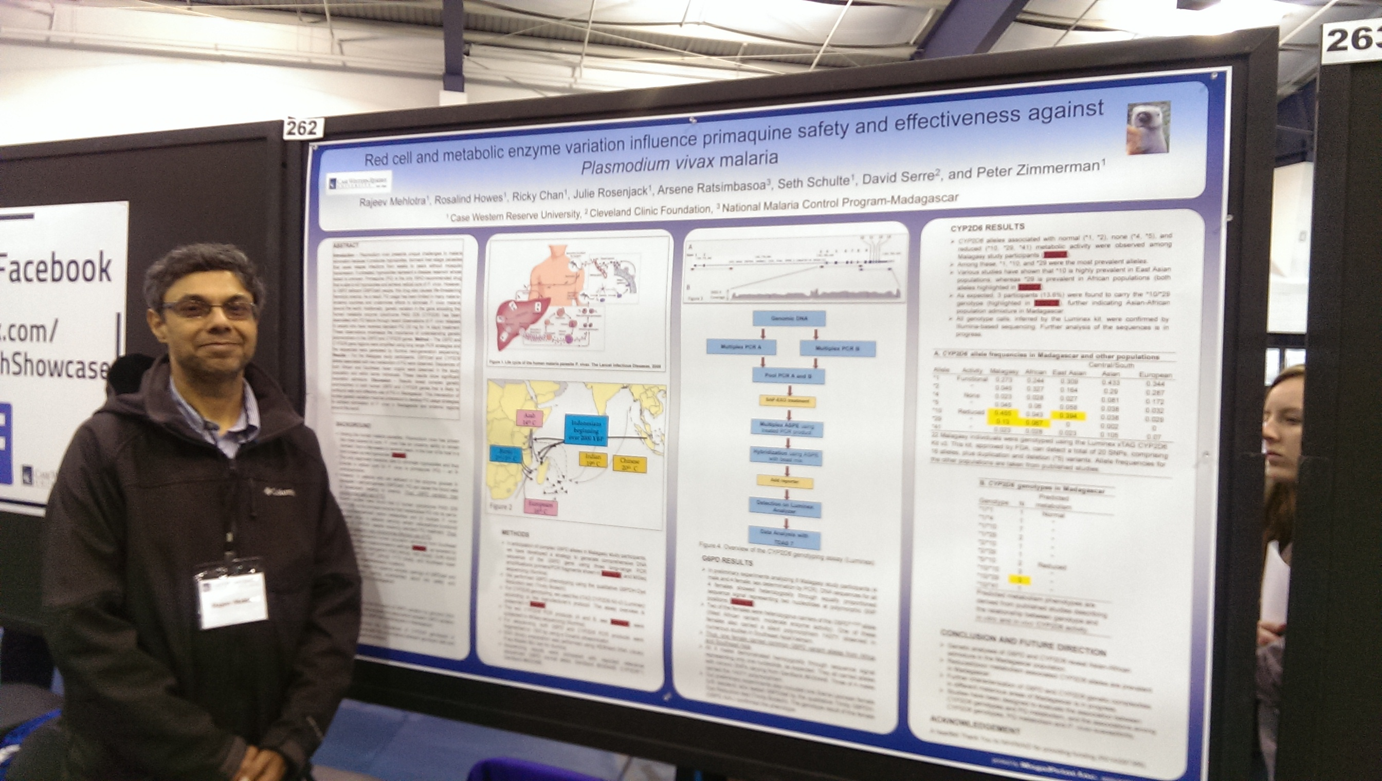 poster session template
