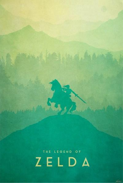Warrior - The Legend of Zelda (Wii U) - PosterSpy