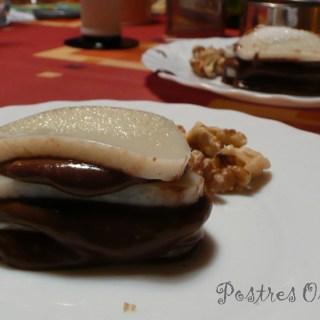 Milhojas de Chocolate y Crema de Leche