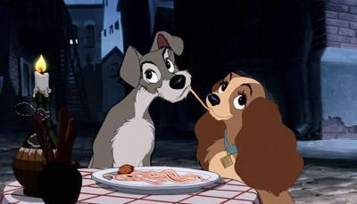 La Cocina en el Mundo de Disney - La Dama y el Vagabundo