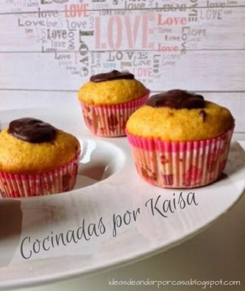 Postres con Verduras - Magdalenas con Calabaza y Chocolate