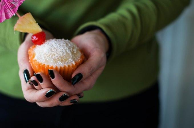 Cupcakes de Piña Colada o Piña y Coco