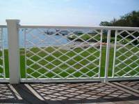 Shingle-style Powder-coated Steel Railing - Post Road Iron ...