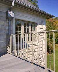 Residential Decorative Railings | Limestone Estates | Post ...