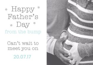 Happy 2017 Father's Day from the bump