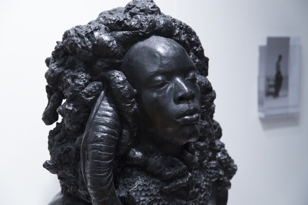 Sculpture by Mohau Modisakeng