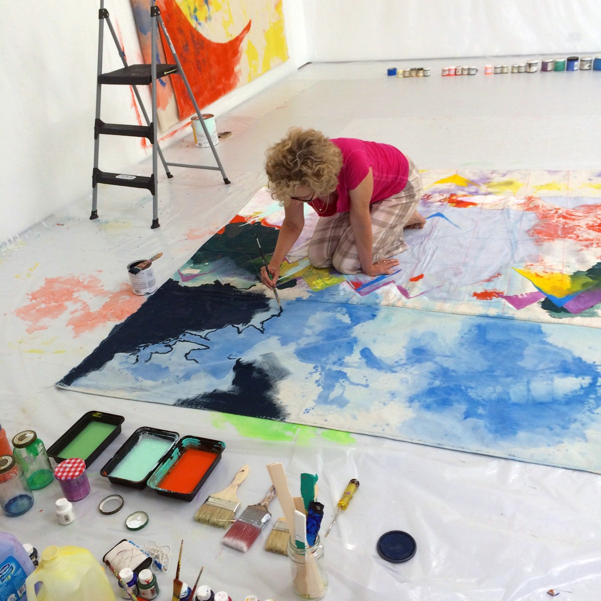 Anne Sherwood Pundyk studio image 3
