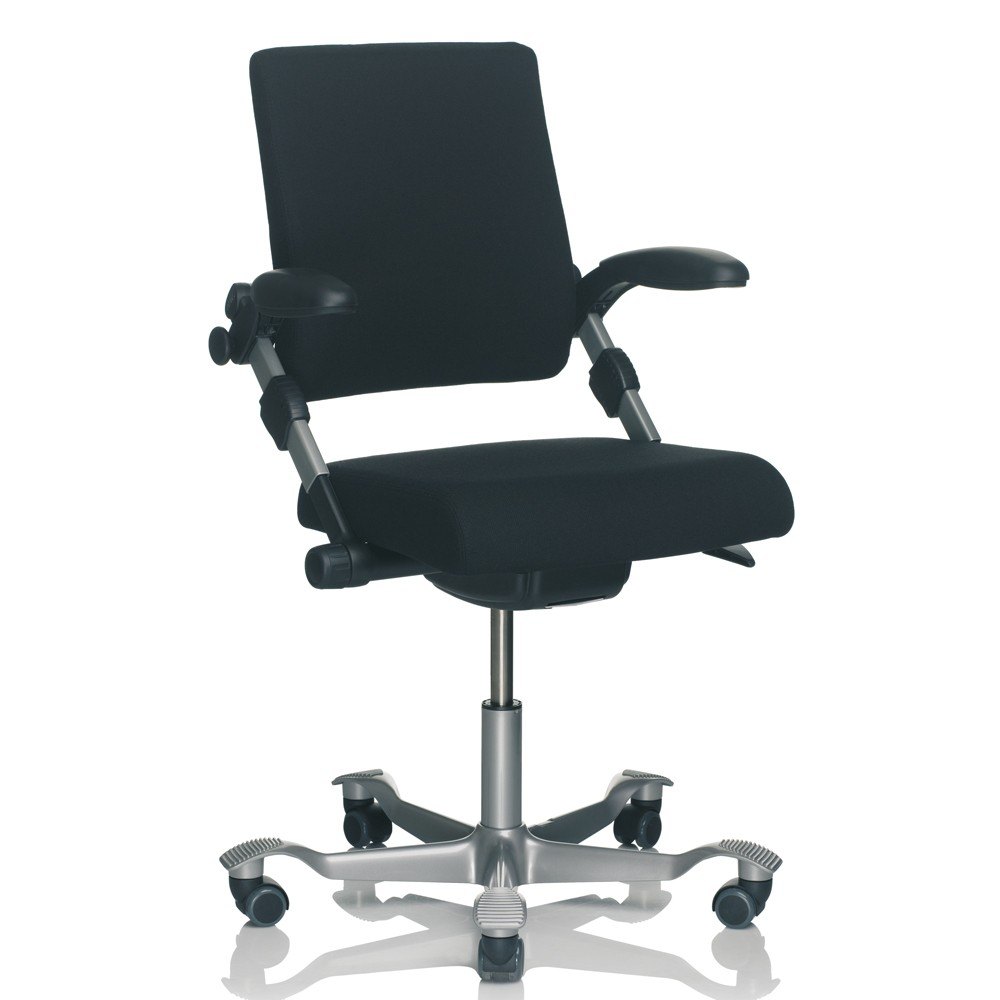 Most Ergonomic Office Chair HÅg H03 350 Medium Back Fully Upholstered Ergonomic Office Chair