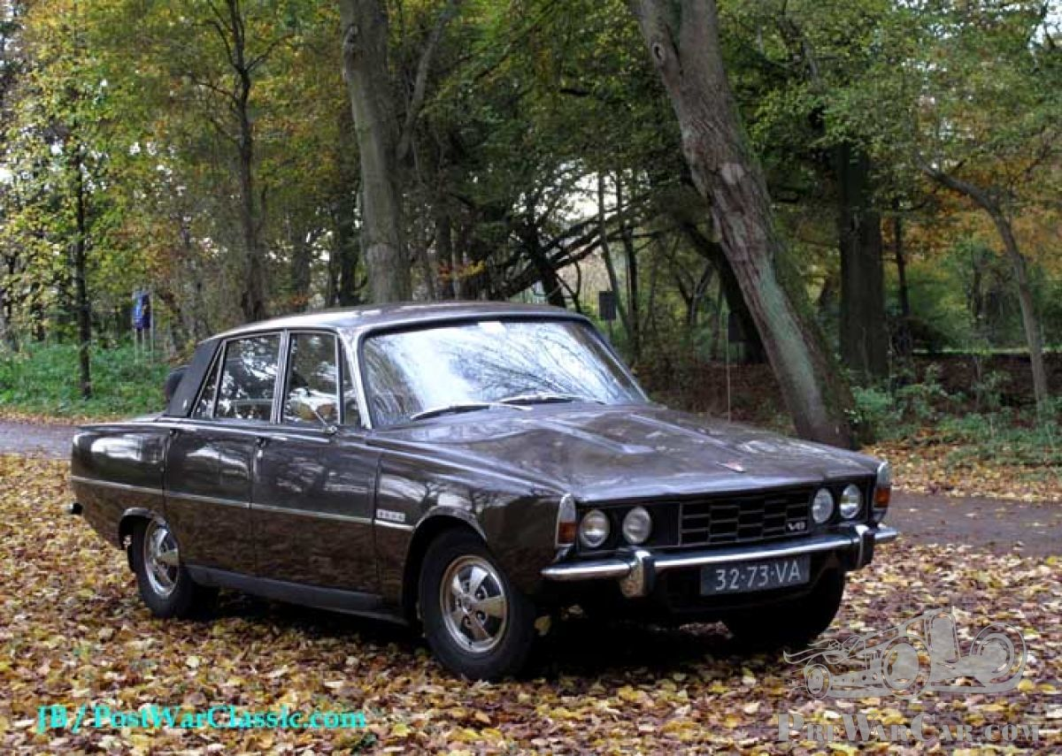 Rover P6 Back To Winter Service Rover P6