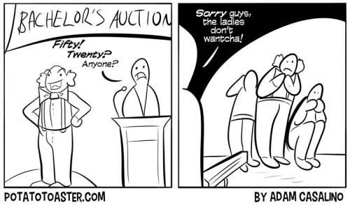 Bachelor Auction Blues
