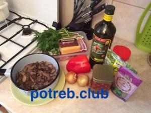 Рецепт говядины, запеченной с груздями
