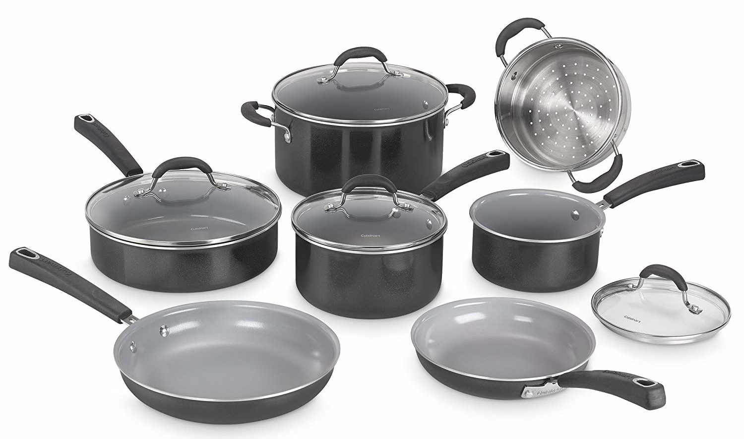 Amazon Cuisinart Stock Pot Best Ceramic Cookware Top 5 Nonstick Sets