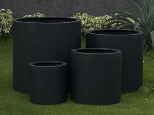 Cylinder Planter In Premium Lightweight 5 Sizes Wholesale Indoor And Garden Pots Based In - Outdoor Furniture Clearance Melbourne