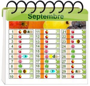 calendrier lunaire septembre 2016 du poulailler bio