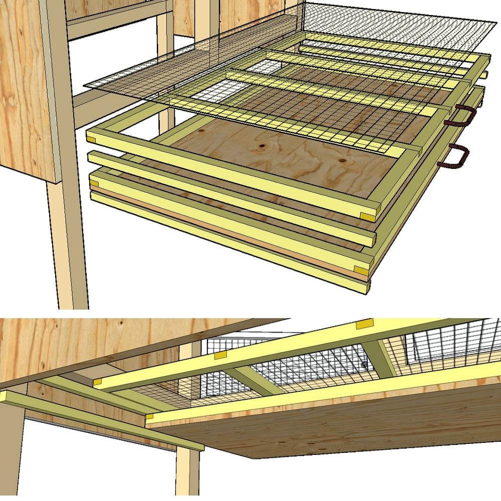 Construction de cages d levage des cailles plan for Plan pour
