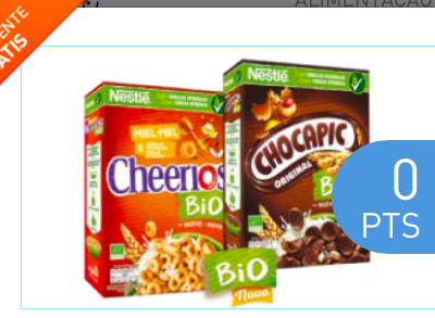 cheerios e chocapic