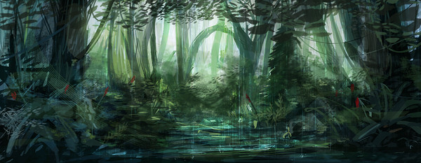 Forest In 3d Landscape Wallpaper Forets Page 2